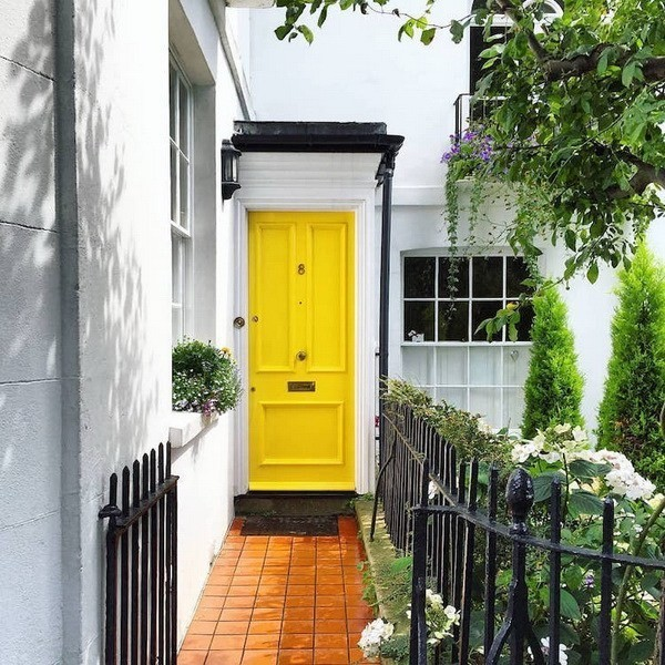 Paint-Your-Doors-In-A-Welcoming-Yellow-3 Decorating With Yellow: How To Brighten Your Space With Yellow