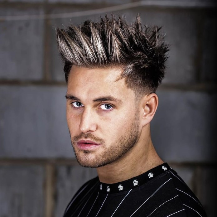 Spiky-Hairstyle-on-Long-Hair Mens Hair Trends – Mens Hairstyles 2020