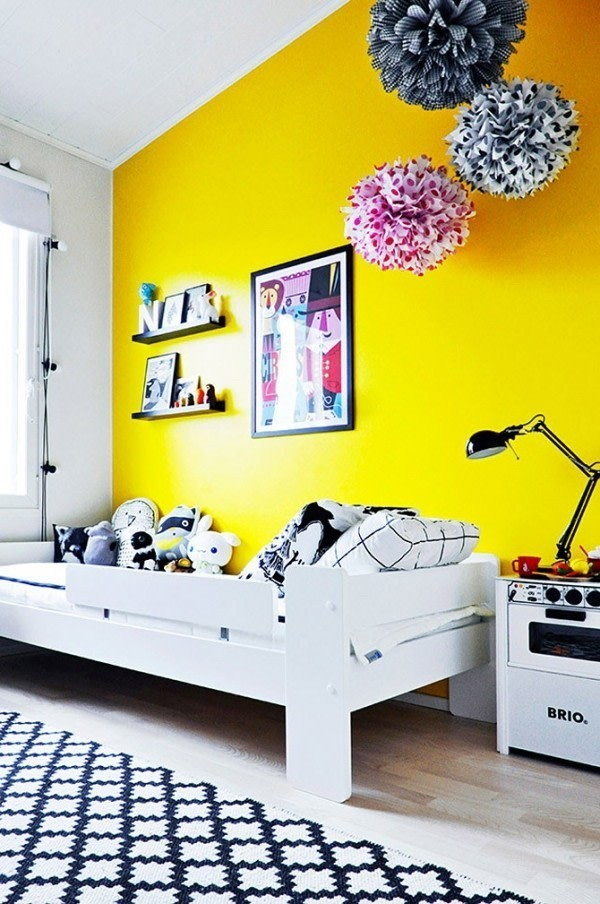 Sunny-Guest-Bedroom-1 Decorating With Yellow: How To Brighten Your Space With Yellow