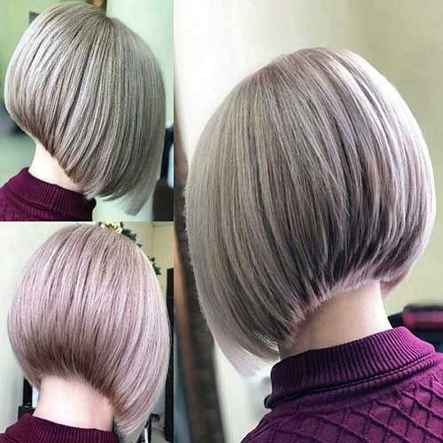 Blond-Hairstyle Best Back of Bob Haircut Pictures