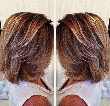 Hair-Color-Ideas-for-Short-Hair-011-ohfree.net_ Popular Balayage Hair Color Ideas for Short Hair