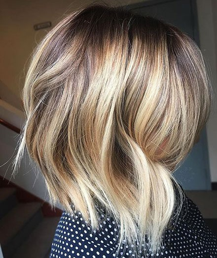 Hair-Color-Ideas-for-Short-Hair-015-ohfree.net_ Popular Balayage Hair Color Ideas for Short Hair