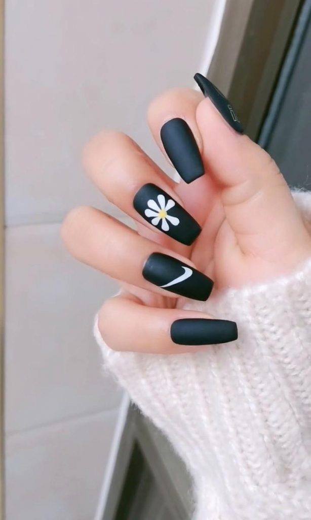 Matte-Nail-Art-Ideas-2 2020 Nail Trends to Inspire Your Next Manicure #1 -  DIY Nails Compilation