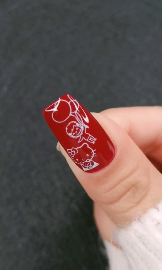 Nail-Designs-with-Nail-Art-Stamping-2 2020 Nail Trends to Inspire Your Next Manicure #1 -  DIY Nails Compilation