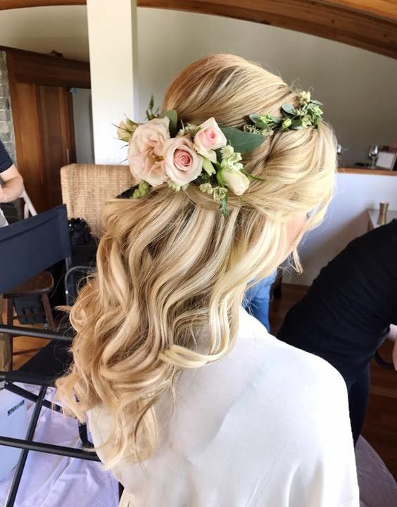 Bridal-Hair-Ideas-To-Look-Fabulous-004-ohfree.net_ Bridal Hair Ideas To Look Fabulous On Your Wedding Day