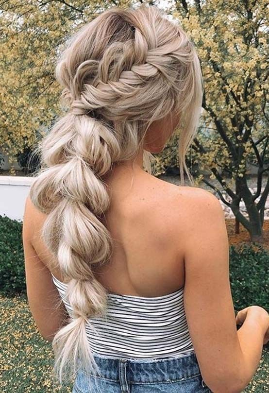 Bridal-Hair-Ideas-To-Look-Fabulous-038-ohfree.net_ Bridal Hair Ideas To Look Fabulous On Your Wedding Day