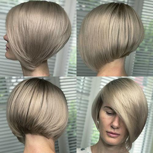 Elegant-Short-Thick-Hair-Trends-2 28 Elegant Short Thick Hair Trends of 2020
