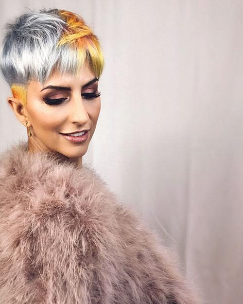 Modern-Pixie-Haircut-with-Bangs Trendy Short Haircuts That You'll Love This Season
