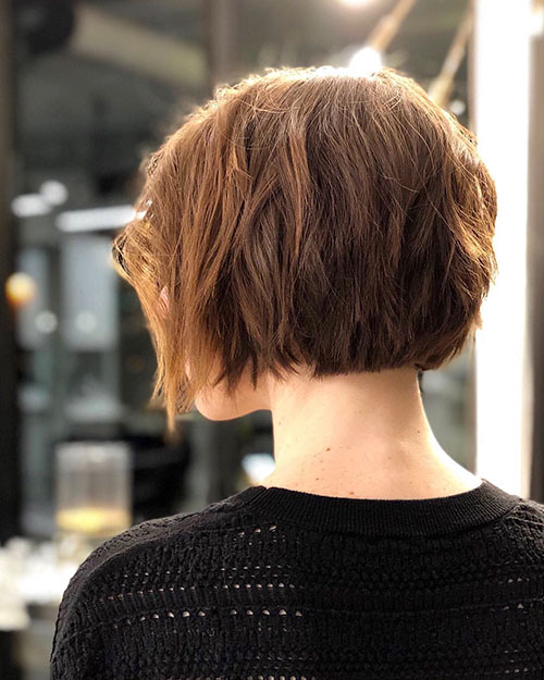 Short-Layered-Hairstyles-for-Thin-Hair-16 Beautiful Short Layered Hairstyles for Thin Hair in 2020