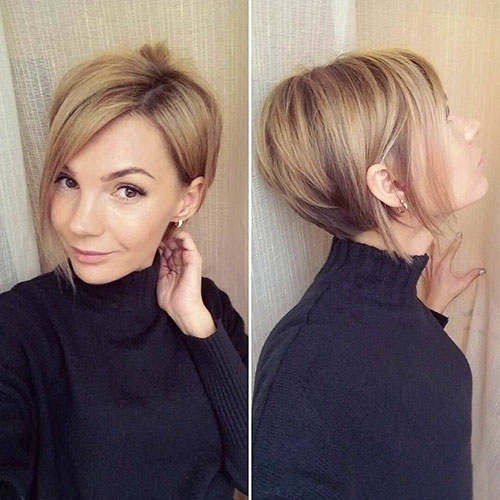 Short-Layered-Hairstyles-for-Thin-Hair-17 Beautiful Short Layered Hairstyles for Thin Hair in 2020