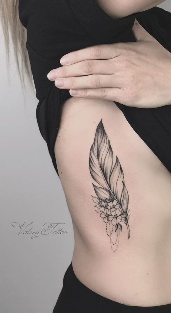 Brilliant-Feather-Tattoo-Designs-to-Impress-26-1 Brilliant Feather Tattoo Designs Try In 2020