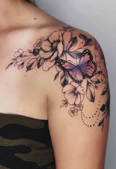 Impressive-and-Meaningful-Butterfly-Tattoos-That-Rock-5 27 Impressive and Meaningful Butterfly Tattoos That Rock 2020