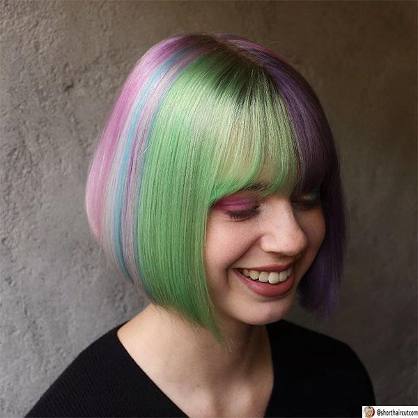 short-and-green-hairstyles-5-1 20 Short and Green Hairstyles You Will Want to Copy