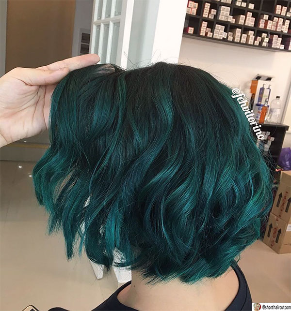short-haircut-with-layers-1 20 Short and Green Hairstyles You Will Want to Copy
