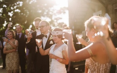 A Gatsby Wedding- Lucy & Pierce's 1920's Inspired Celebration