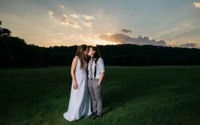 A Charming Summertime Barn Wedding