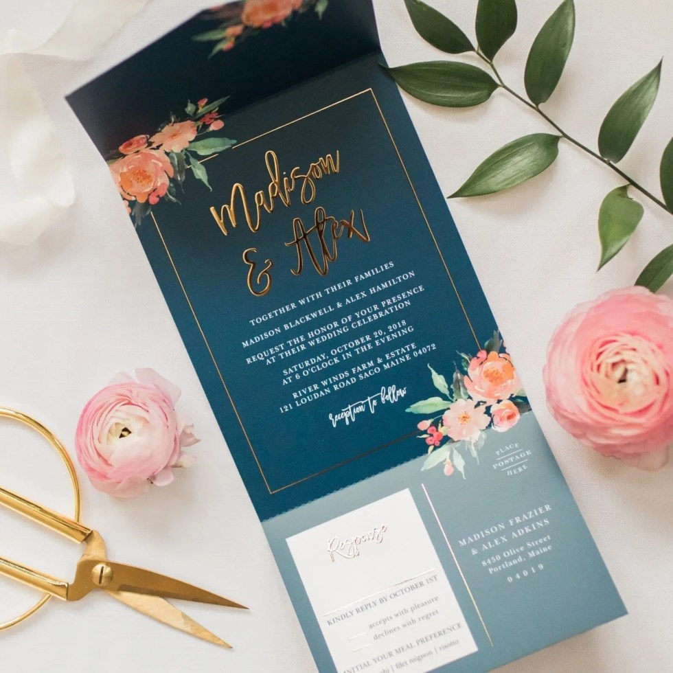 Wedding day Details - basic invite