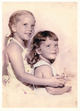 My mother and her sister.