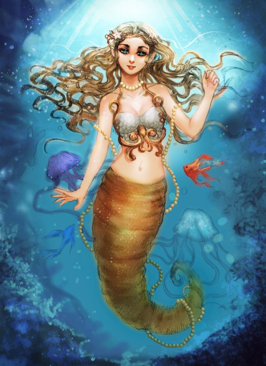 ______commission__beautiful_mermaid______by_titprince-d9z84rs