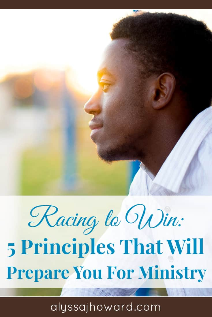 Preparing for ministry is something every believer is called to do. Here are 5 principles of running that we can apply to our ministry as Christians.