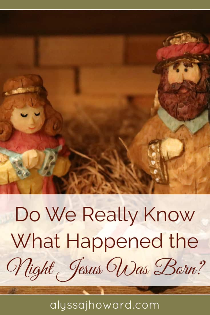 Do We Really Know What Happened the Night Jesus Was Born? | alyssajhoward.com