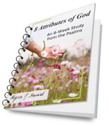 8 Attributes of God: An 8-Week Study from the Psalms | alyssajhoward.com