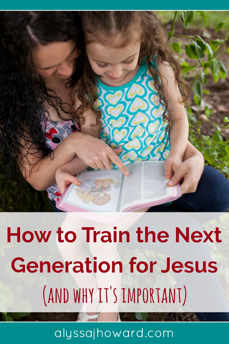 When we strive to train the next generation for Christ, we are fulfilling a God-given mandate to teach our children about who they are in Him.