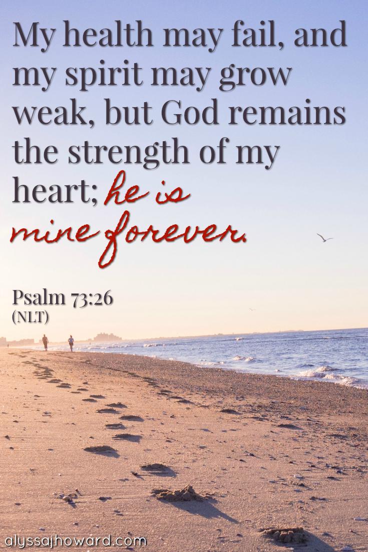 The Love of God: You Are No Longer Alone | alyssajhoward.com