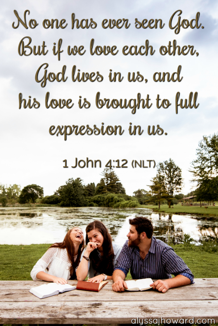 They Will Know Us By Our Love Living as the Family of God | alyssajhoward.com