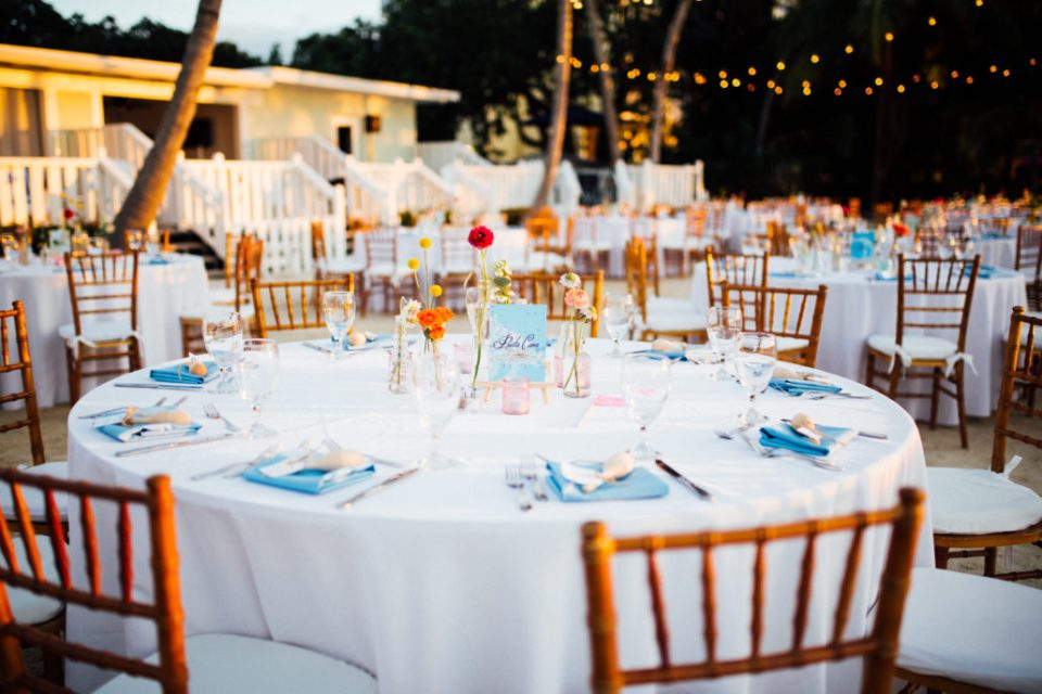 wedding at the coconut palm inn