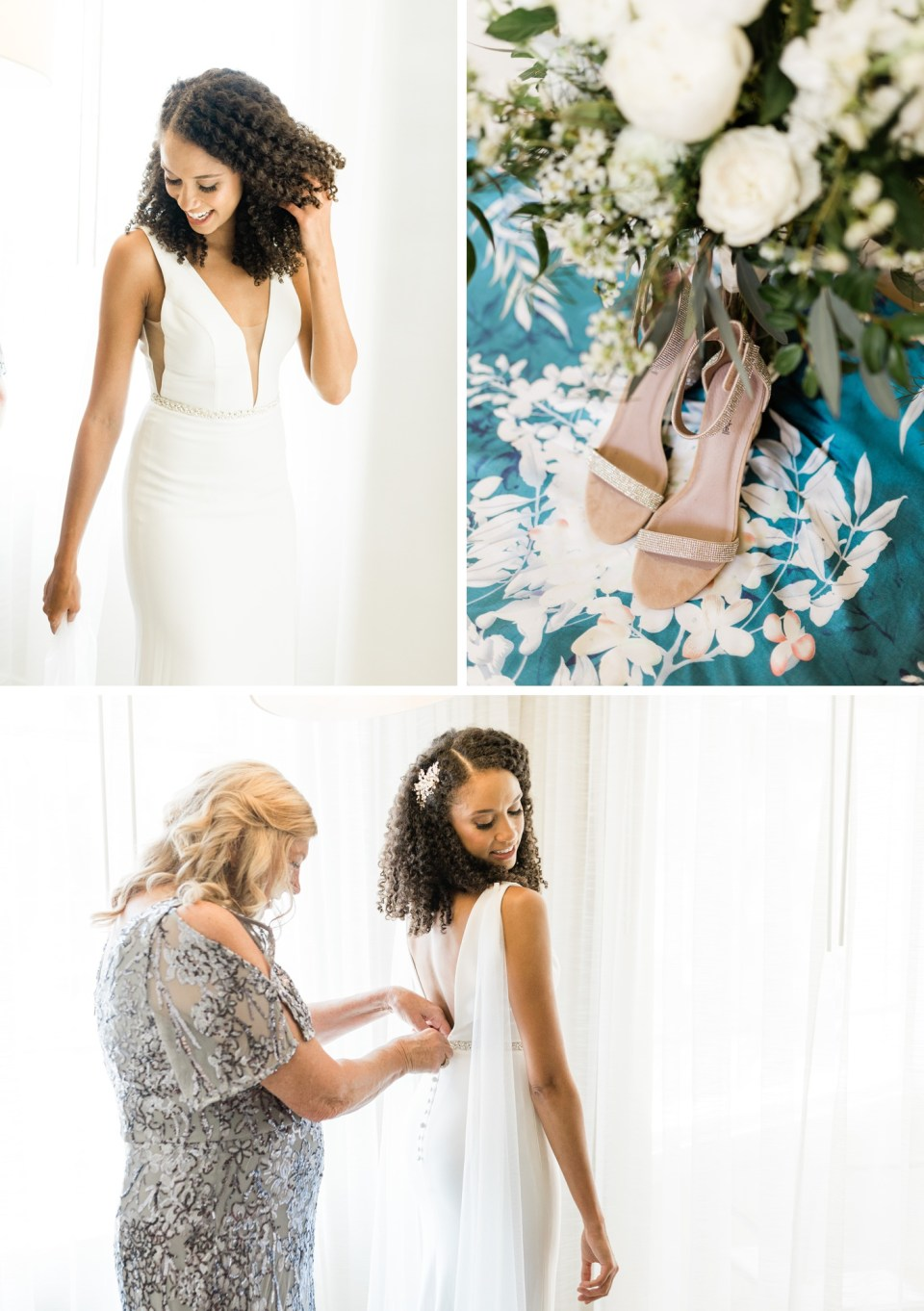 Bride in Ryder gown by Made With Love bridal