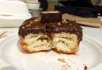 Chocolate candy kronut