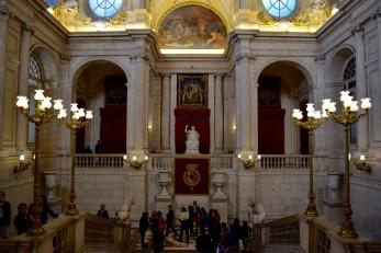 Royal Palace reception area