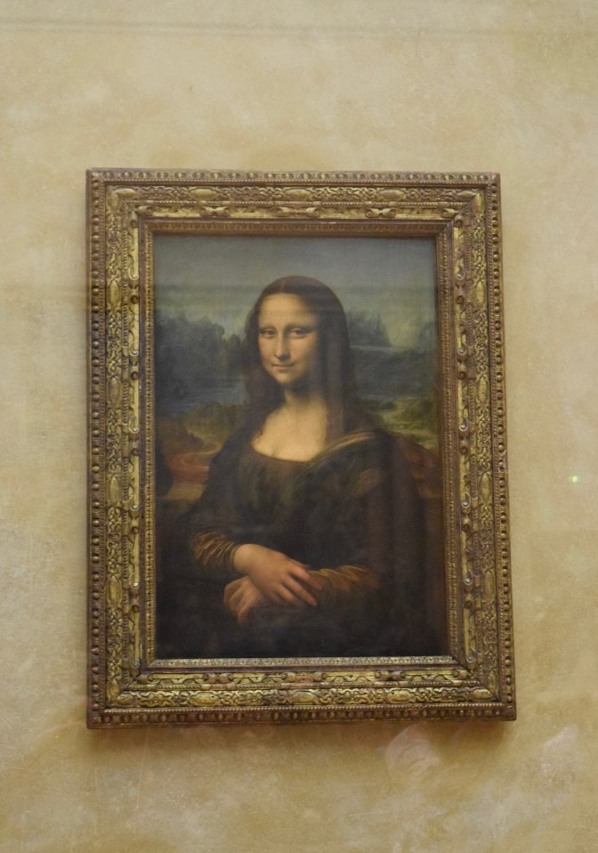 The Kardashian of paintings (Mona Lisa)