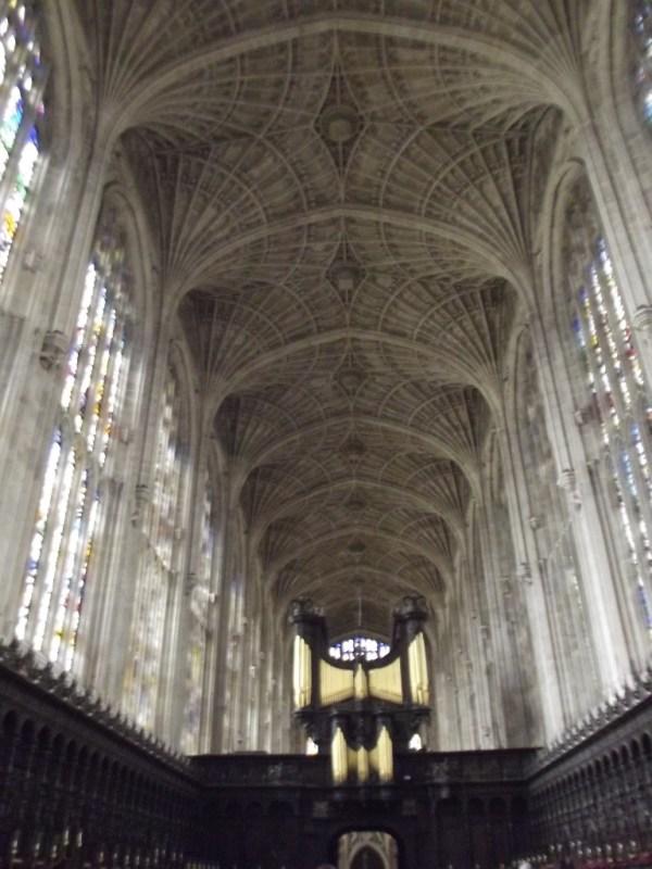 Fan vaulting, King's college chapel, cambridge