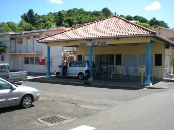 Gare Routiere, Sainte Anne, Martinique