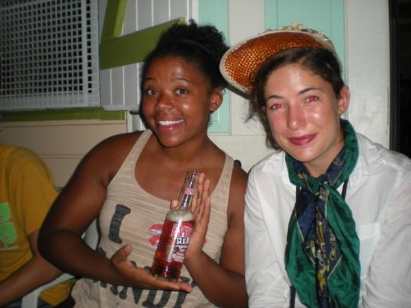 Desperados, drinking in Martinique