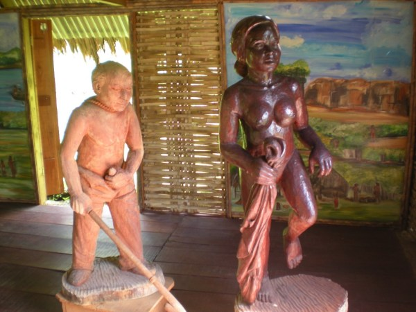 Savane des Esclaves statues, sex in martinique, condoms in martinique