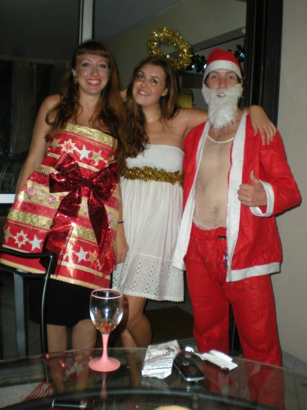 Fancy dress Christmas party 2011, Martinique