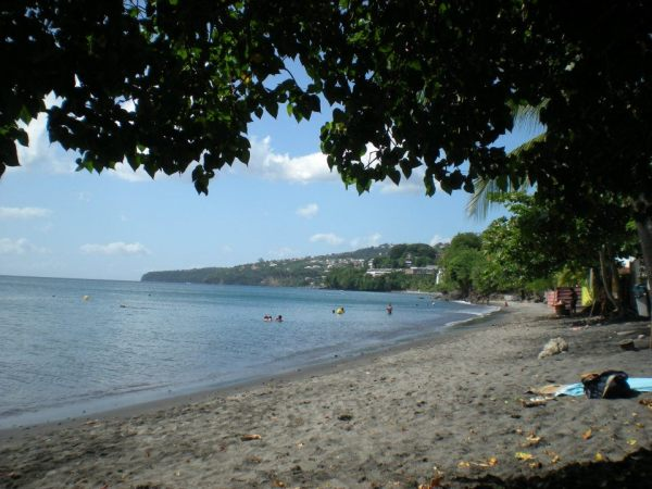 Beach, la plage, Schoelcher, Martinique