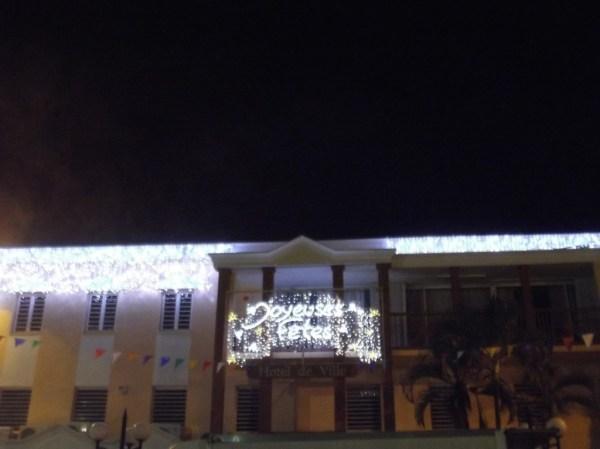 Joyeuses Fetes, La mairie de Trinité