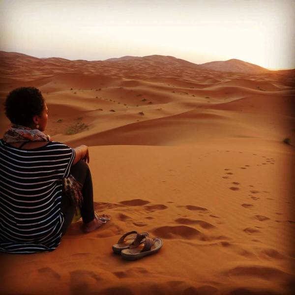 merzouga desert, black travel blogger, alyssa writes