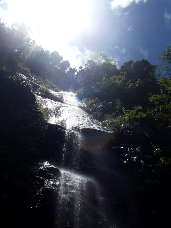Riviere Couleuvre Waterfall, Cascade de la Riviere Couleuvre, Martinique