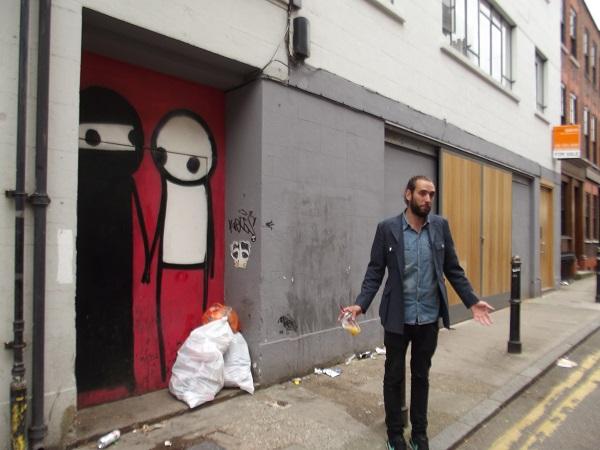 Stik street art, Shoreditch