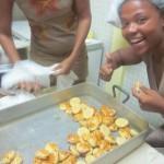 Pork Pies, Pates Salees, in Martinique