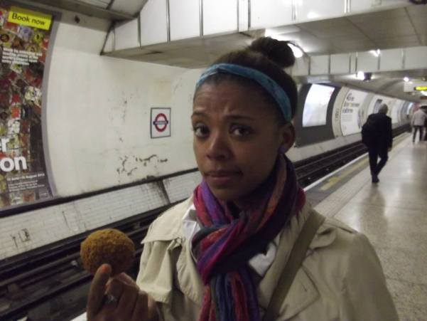 """I will only eat British food, forever and ever -- starting with scotch eggs!"""
