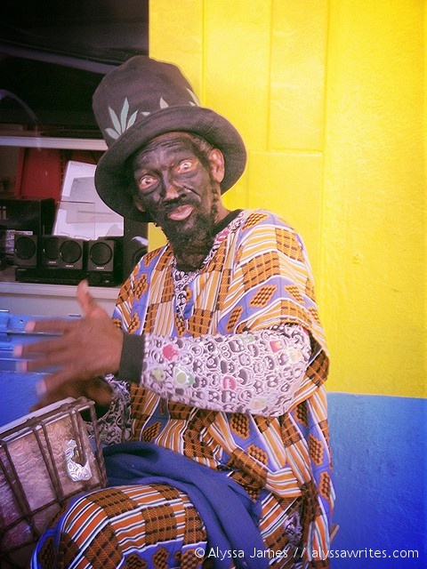 Dominica Street Performer