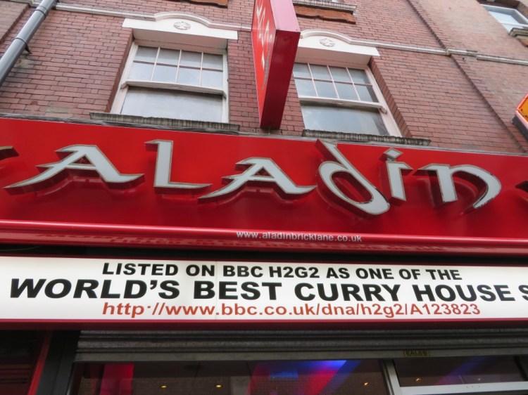 Aladin, Brick Lane, London