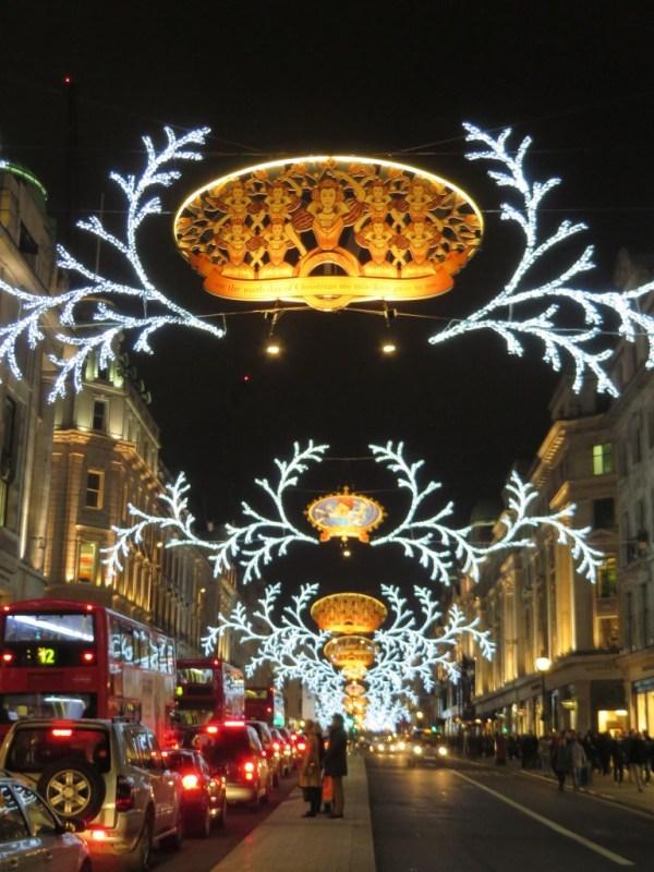 Oxford Street Christmas Lights