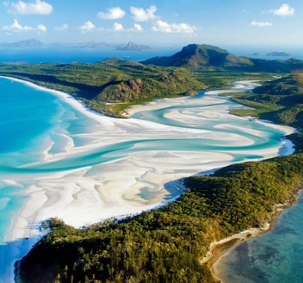 Whitehaven Beach, Whitsunday Island, Australia